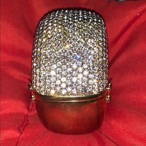 Bracelet. Crystals, chunky!